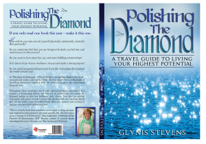 """Polishing the Diamond - A Travel Guide to Living your Highest Potential"" © Glynis Stevens"